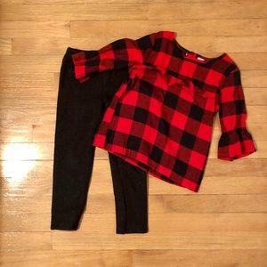 Carters Buffalo Plaid outfit